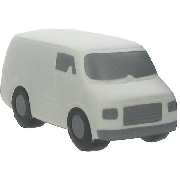 White Cargo Van Stress Reliever