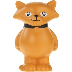 Cartoon Cat Stress Ball Branded with Your Logo