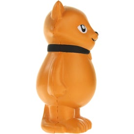 Personalized Cartoon Cat Stress Ball