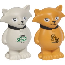 Cartoon Cat Stress Ball