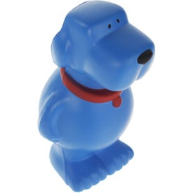 Printed Cartoon Dog Stress Ball