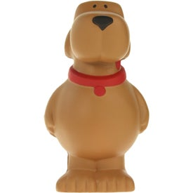 Cartoon Dog Stress Ball for Promotion