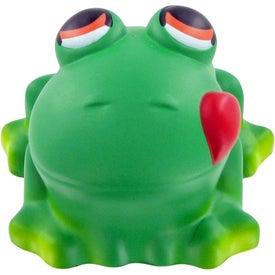 Advertising Cartoon Frog Stress Toy