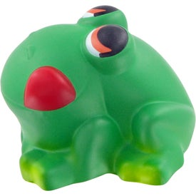 Cartoon Frog Stress Toy Printed with Your Logo