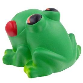 Logo Cartoon Frog Stress Toy