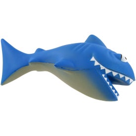 Cartoon Shark Stress Ball Branded with Your Logo