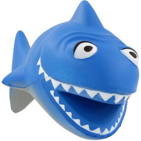 Cartoon Shark Stress Ball for Your Church