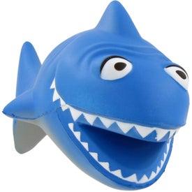 Cartoon Shark Stress Ball for Your Church
