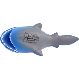 Company Cartoon Shark Stress Ball