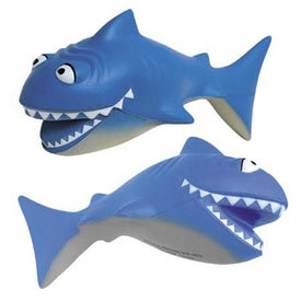 Cartoon Shark Stress Ball