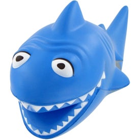 Custom Cartoon Shark Stress Toy