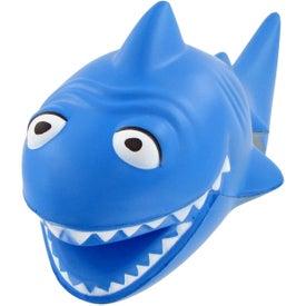 Custom Cartoon Shark Stress Toy