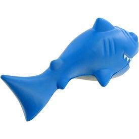 Cartoon Shark Stress Toy for Your Company