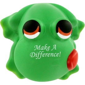Customized Cartoon Frog Stress Ball