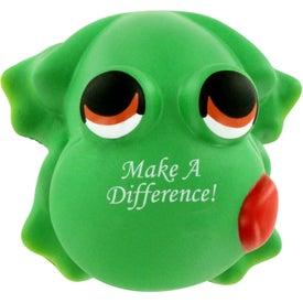 Customized Cartoon Frog Stress Ball