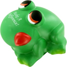 Cartoon Frog Stress Ball for Your Company