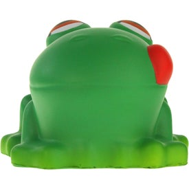 Imprinted Cartoon Frog Stress Ball