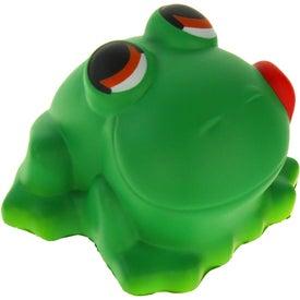 Logo Cartoon Frog Stress Ball