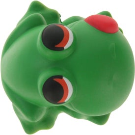 Cartoon Frog Stress Ball Branded with Your Logo