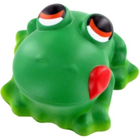 Custom Cartoon Frog Stress Ball