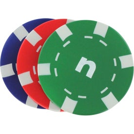 Casino Chip Stress Reliever with Your Logo