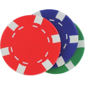 Customized Casino Chip Stress Reliever