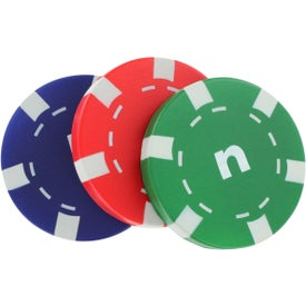 Casino Chip Stress Reliever Imprinted with Your Logo