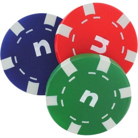 Casino Chip Stress Relievers