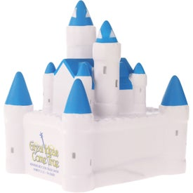 Customized Castle Stress Ball