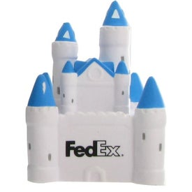 Promotional Castle Stress Ball