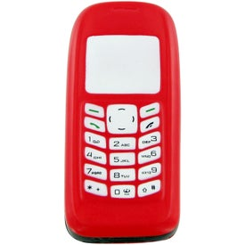 Imprinted Cell Phone Stress Toy