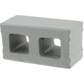 Logo Cement Block Stress Ball