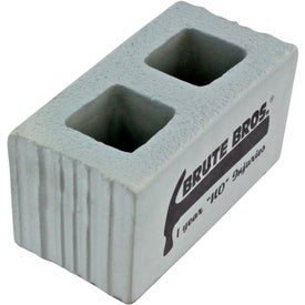 Personalized Cement Block Stress Ball