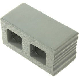 Cement Block Stress Ball for Advertising