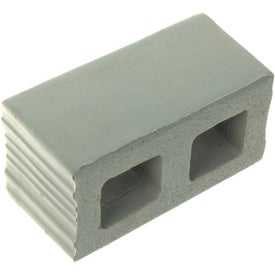Cement Block Stress Ball Imprinted with Your Logo
