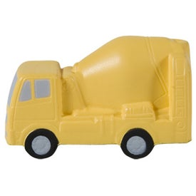 Concrete Mixer Stress Ball Printed with Your Logo