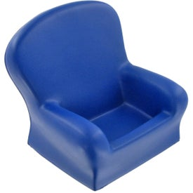 Imprinted Chair Cell Phone Holder Stress Ball