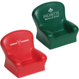 Chair Cell Phone Holder Stress Ball Giveaways
