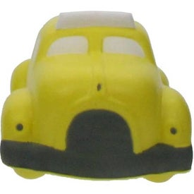 Monogrammed Checker Cab Stress Ball