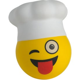 Chef Emoji Hat Stress Relievers