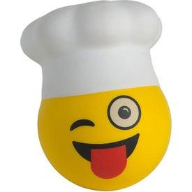 Chef Emoji Hat Stress Reliever