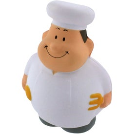 Chef Bert Stress Reliever with Your Logo