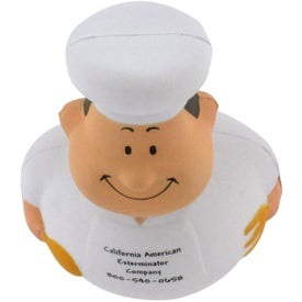 Advertising Chef Bert Stress Reliever