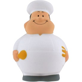 Chef Bert Stress Reliever for Promotion