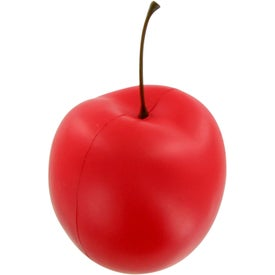 Cherry-Red Stress Toy for Your Organization