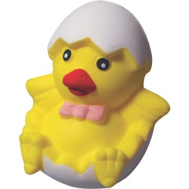 Imprinted Chick in Egg Stress Reliever