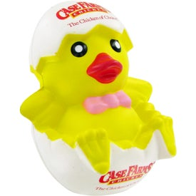 Personalized Chicken In Egg Stress Toy