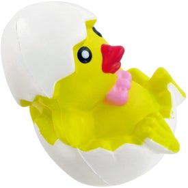 Promotional Chicken In Egg Stress Toy
