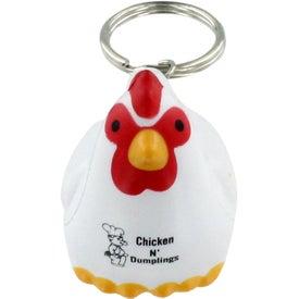 Chicken Key Chain Stress Ball Giveaways