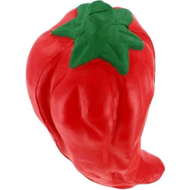 Promotional Chili Pepper Stress Reliever